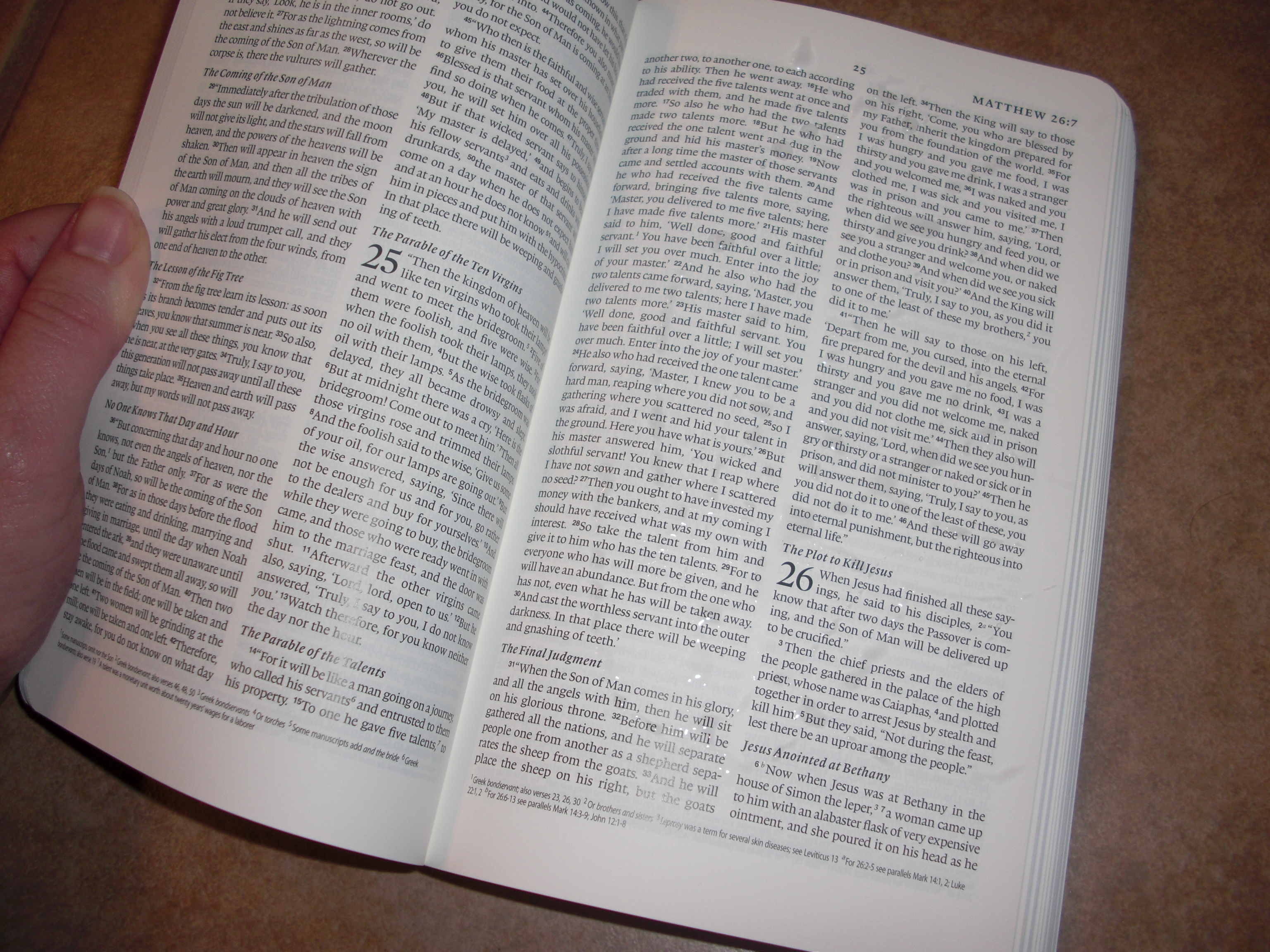 Waterproof Bible Review and Giveaway | The Judgmental Christian